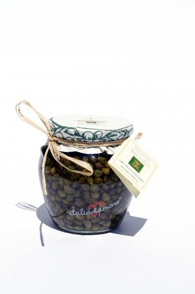 Capperi sott'olio extravergine d'Oliva 500 gr