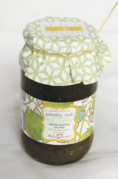 Confettura / Composta di Pomodori Verdi Cuore di Bue di Albenga 580ml/480g
