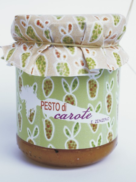 Pesto di Carote e Zenzero 212 ml / 175 gr