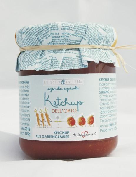 Ketchup aus Gartengemüse 212 ml / 180 gr