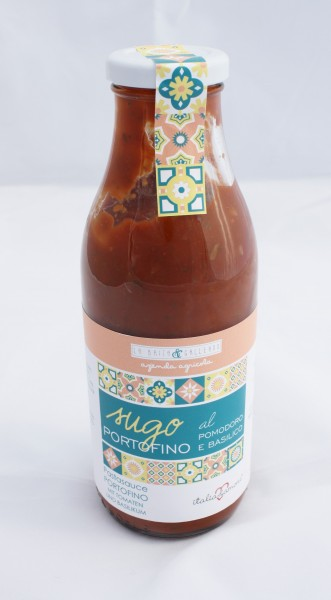 Sugo Portofino al pomodoro e basilico - 500 ml / 480 gr - Pastasauce Portofino mit Tomaten