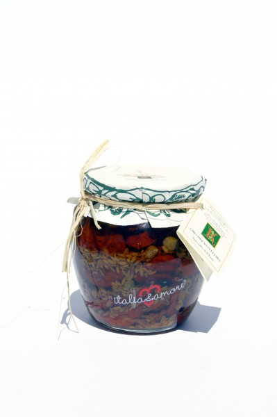 Pomodoro secco, Capperi e Finocchio 500 gr*