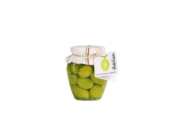 "Olive verdi ""Bella di Cerignola"" 550 gr"